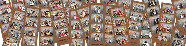 photo booth strips, watershed winery