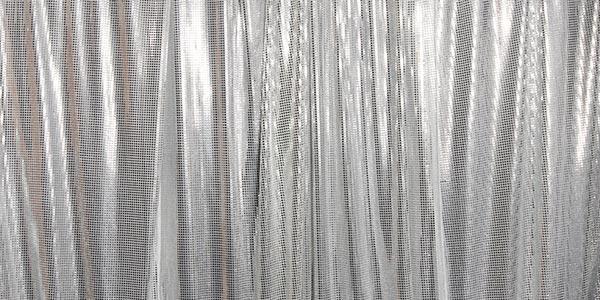 silver photo booth, backdrop