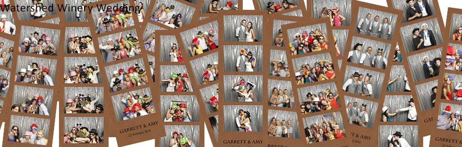 margaret river photo booths. wateshed winery